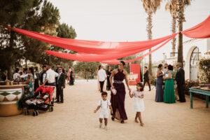 ambientación en boda
