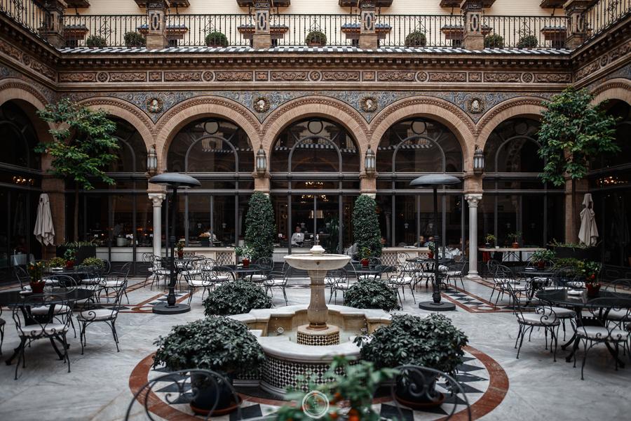 hotel boda Sevilla